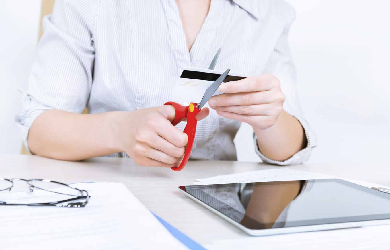 Credit Card Cutting